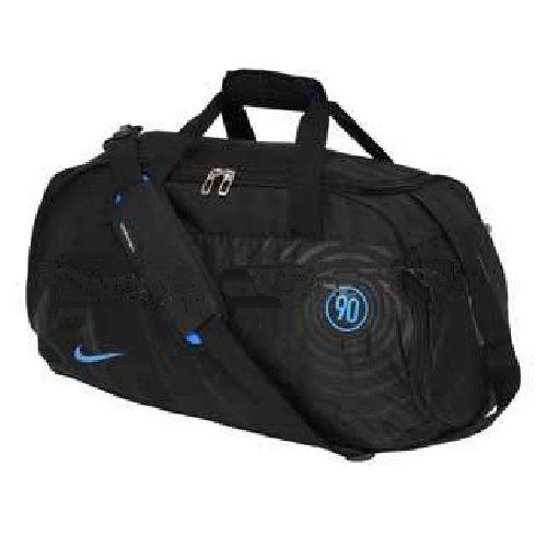 Nike T90 Sports Medium Black Sports Duffle Bag