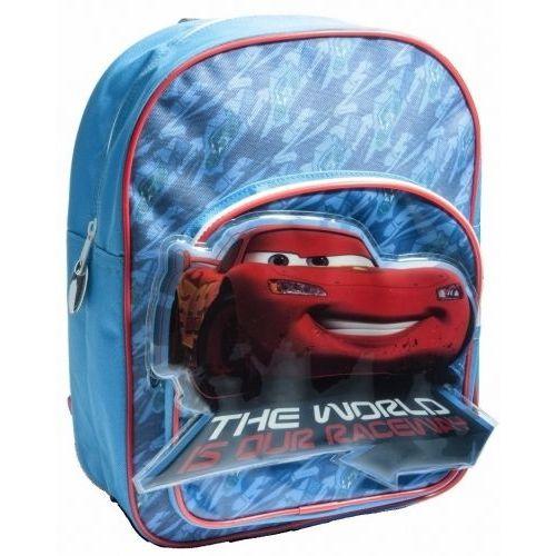 Disney Cars Twin Pocket Junior Backpack Childs Kids Rucksack School Bag