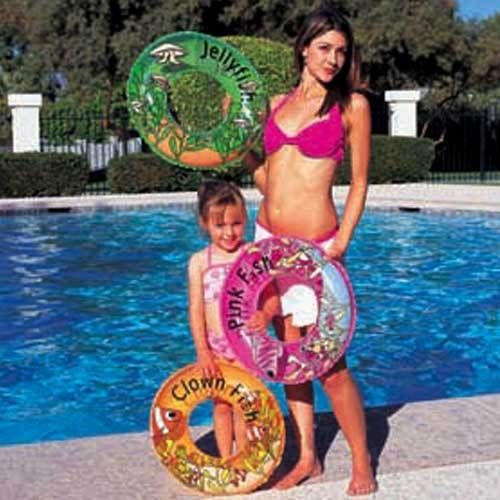 Bestway 20´´ Inflatable Fish Design Swimming Ring 51cms