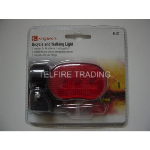 Bicycle Cycle Bike And Walking Rear LED Light Lamp