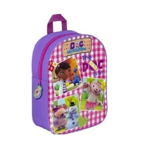 Doc McStuffin Junior Backpack Childs Kids Rucksack Nursery School Bag
