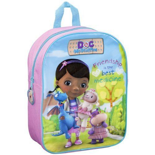 Doc McStuffins Junior Backpack Childs Kids Rucksack Friendship Bag