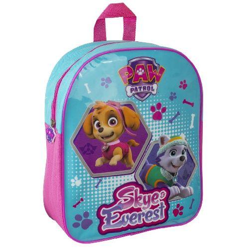 Girls Paw Patrol Junior Backpack Childs Kids Rucksack School Nursery Bag