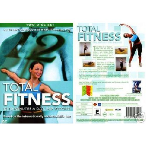 Total Fitness For Women Two Disc DVD Set  *NEW & SEALED*