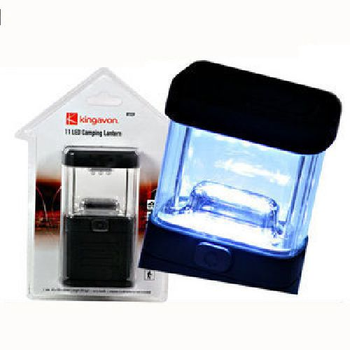 11 LED Camping Caravan Tent Fishing Light Shed Lantern Lamp