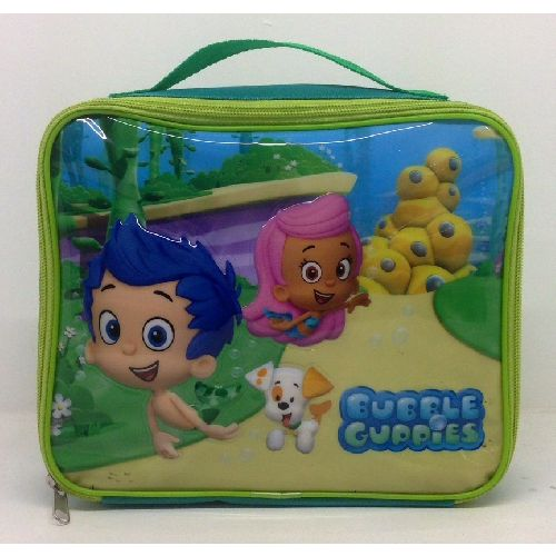 Bubble Guppies Insulated Lunch Bag Nursery School Picnics Outings