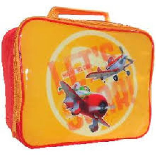 Disney Planes Orange Insulated Lunch Bag Childs Kids School Dinner