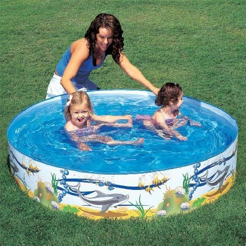 "Bestway Splash & Play Childs Kids Ocean Garden Paddling Pool 60"" x 10"""