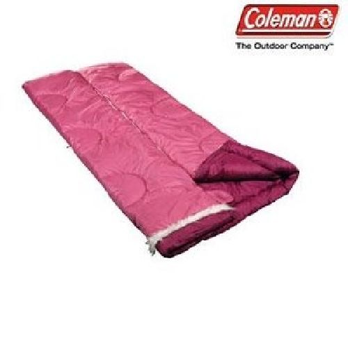 Colemans Sleeping Diva Pink Girlie Sleeping Bag