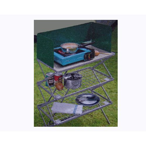 Concertina Camping Kitchen Cooker Stove Stand