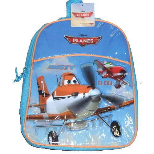 Disney Planes Junior Backpack Childs Kids Rucksack Blue School Bag 3D