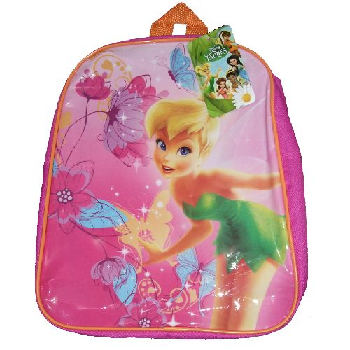 Disney Tinkerbell Fairies Junior Backpack Childs Kids Rucksack 2017