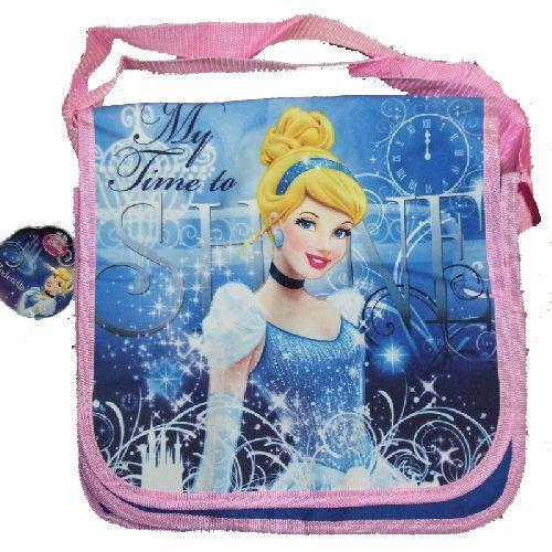 Cinderella Disney Princess Messenger Despatch School Backpack Bag