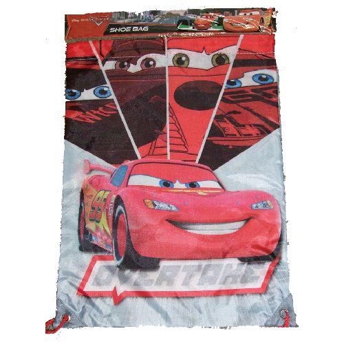Disney Cars McQueen Trainer Bag Shoes Pumps Sports School PE Kit Gym 2