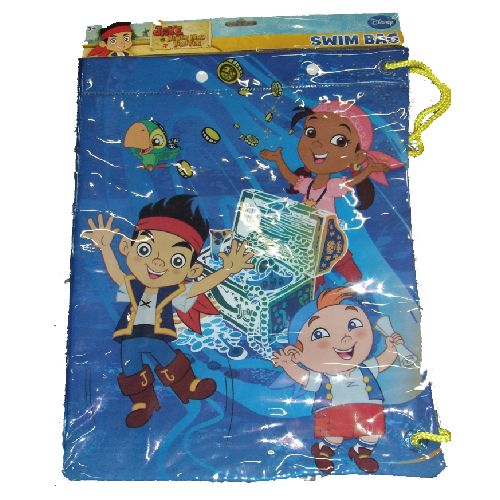 Disney Jake Pirate Swimming Bag Summer Breeze Pool Beach Swim PVC Childs