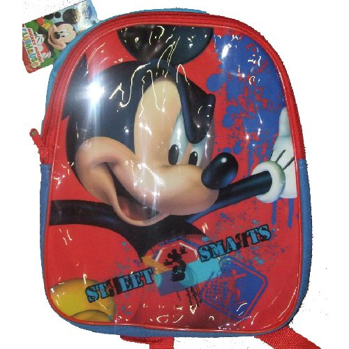 "Disney Mickey Mouse Junior Backpack Childs Kids Rucksack ""Street Smarts"""