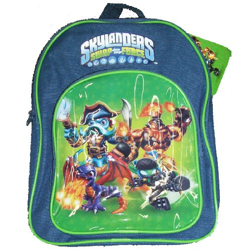 Skylanders Swap Force Junior Backpack Childs Kids Rucksack School Bag