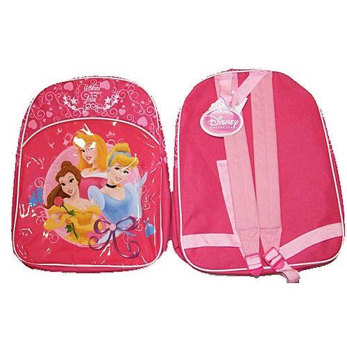 7a1203d2683 Disney Princess Junior Backpack Kids Childs Rucksack School Bag Dark Pink