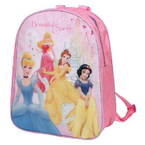 30881e5b3c9 Disney Princess Junior Backpack Kids Childs Girls School Bag ´Sparkle´