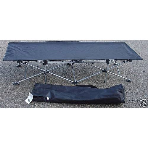 Folding Deluxe Camping / Guest Bed + Carry Bag