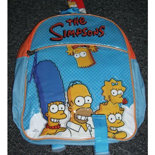 The Simpsons Junior Backpack Childs Kids Rucksack School Nursery Bag