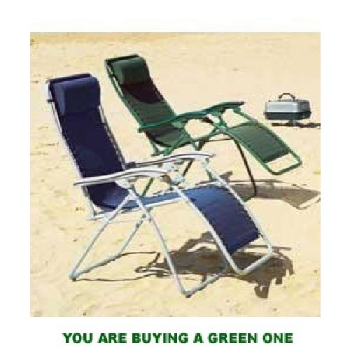 St Tropez Recliner Chair GREEN