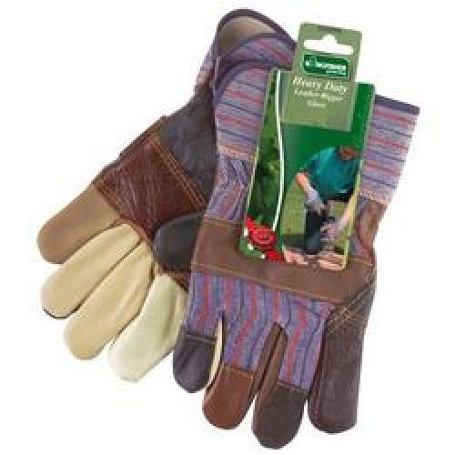 Kingfisher Heavy Duty Mens Gardening Rainbow Rigger Gloves