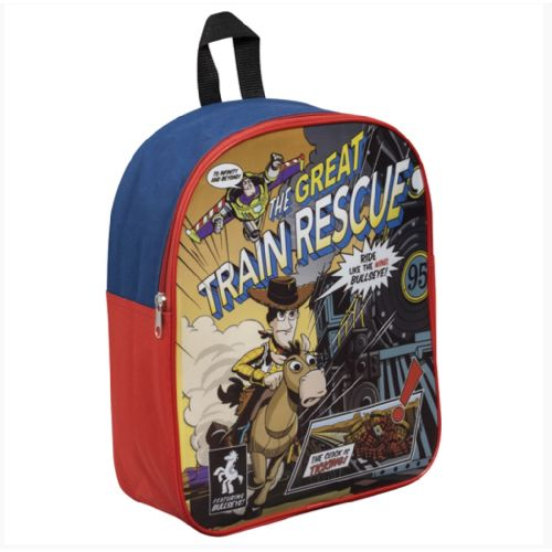"Disney Toy Story ""Great Train Rescue"" Junior Backpack Featuring Bullseye"