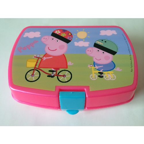 Peppa Pig Character Childs Kids Lunch Box Sandwich Picnic School
