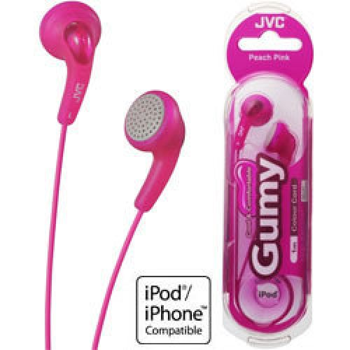 JVC Gumy Earphones Headphones Gummy Pink iPOD MP3