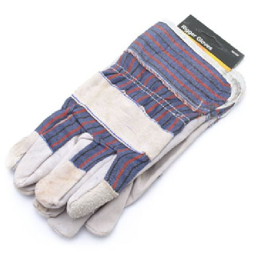 Heavy Duty Mens Rigger Gloves Gardening General Purpose Utility