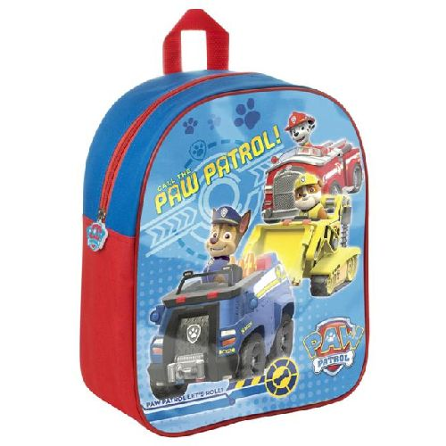 Boys Paw Patrol Junior Backpack Childs Kids Rucksack School Nursery Bag