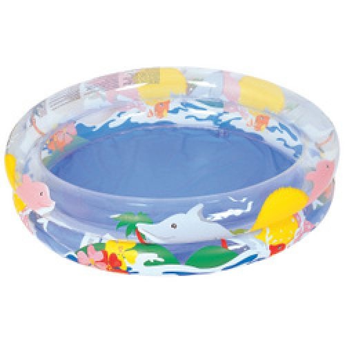 "Bestway Kids Childs Sea Life Garden Paddling Pool 36"" x 8"""