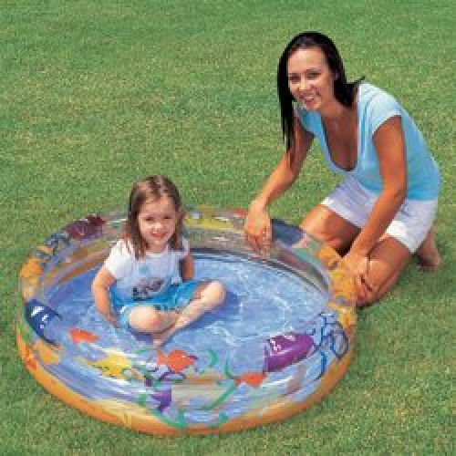 "Bestway Kids Childs Sea Life Paddling Pool 40"" x 10"""