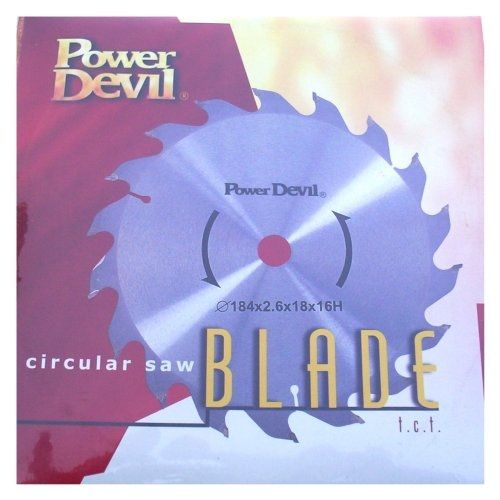 Powerdevil Circular Saw Blade 184mm x 16mm Bore Size