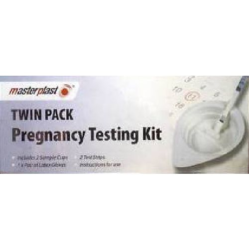 Masterplast Pregnancy Testing Kit Twin Pack Accurate