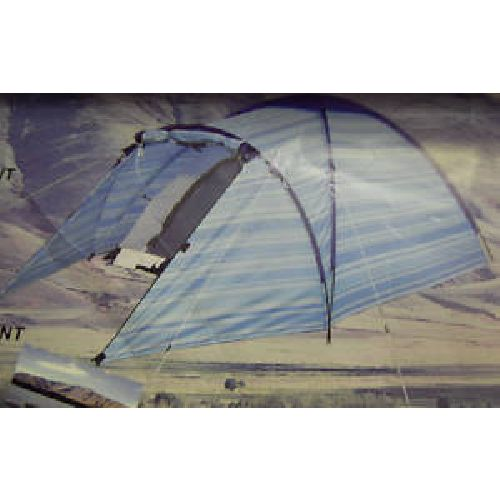 Pro Action Funky Blue Stripe 2 Person 2 ManTent
