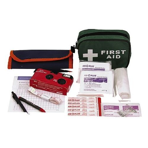 RAC Car / Van Accident First Aid Kit Complete with Camera