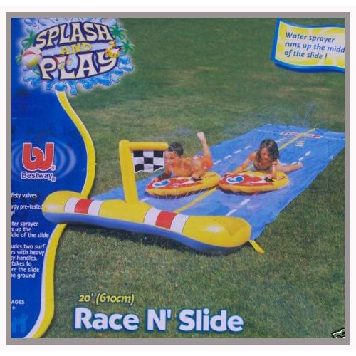 Bestway Race n Slide´ 20ft Kids Garden Water Slide
