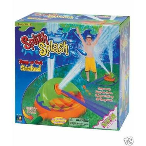 Splish Splash Water Soaker Sprinkler Garden Game