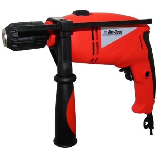 Amtech 750 Watt Powerful Electric Hammer Drill Keyless Chuck Am-Tech