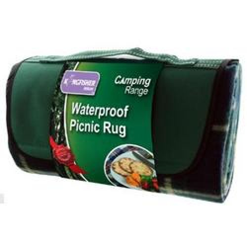 Waterproof Travel Camping Picnic Blanket Rug 107 x136cm