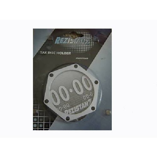 Rezistanz Aluminium Custom Car Tax Disc Holder