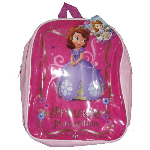Disney Princess Sofia Junior Backpack Childs Kids Rucksack School Bag