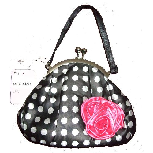Ex Mothercare Store Small Spot & Rose Girls Handbag Childs Kids Bag