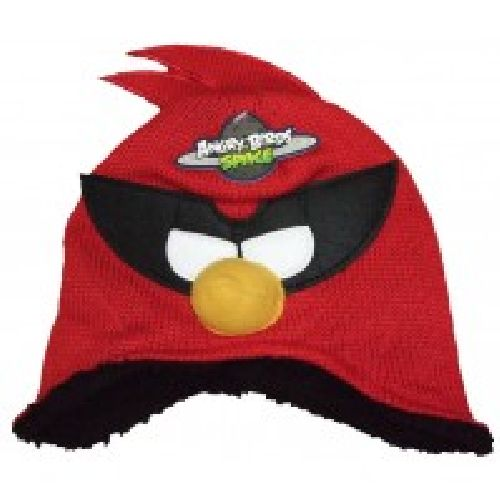 Angry Birds Star Wars Red Knitted Hat Childs Kids Size: 1-3 Years