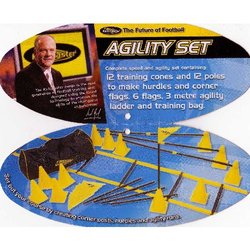 Kickmaster Speed and Agility Training Set in a Bag