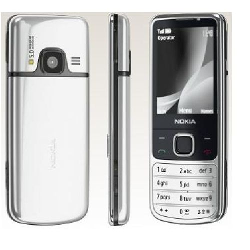 Nokia 6700 Classic Silver Mobile Phone O2 Network